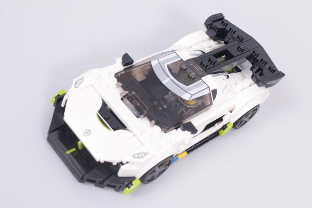 LEGO Speed Champions 76900 Koenigsegg Jesko Review 10