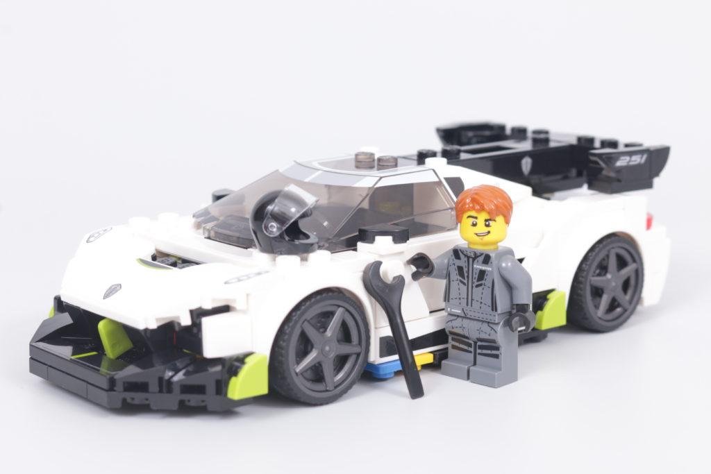 LEGO Speed Champions 76900 Koenigsegg Jesko Review 24