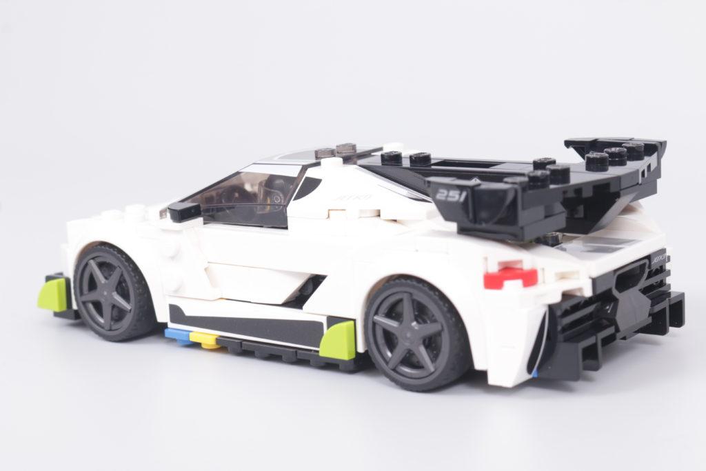 LEGO Speed Champions 76900 Koenigsegg Jesko Review 26