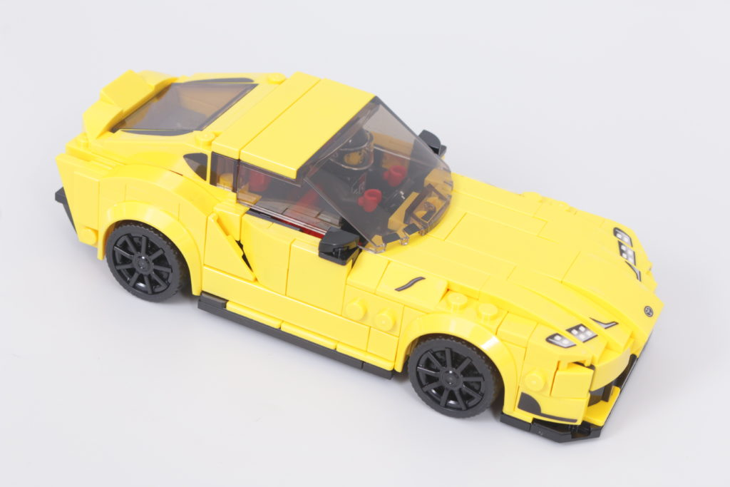LEGO Speed Champions 76901 Toyota GR Supra review 3