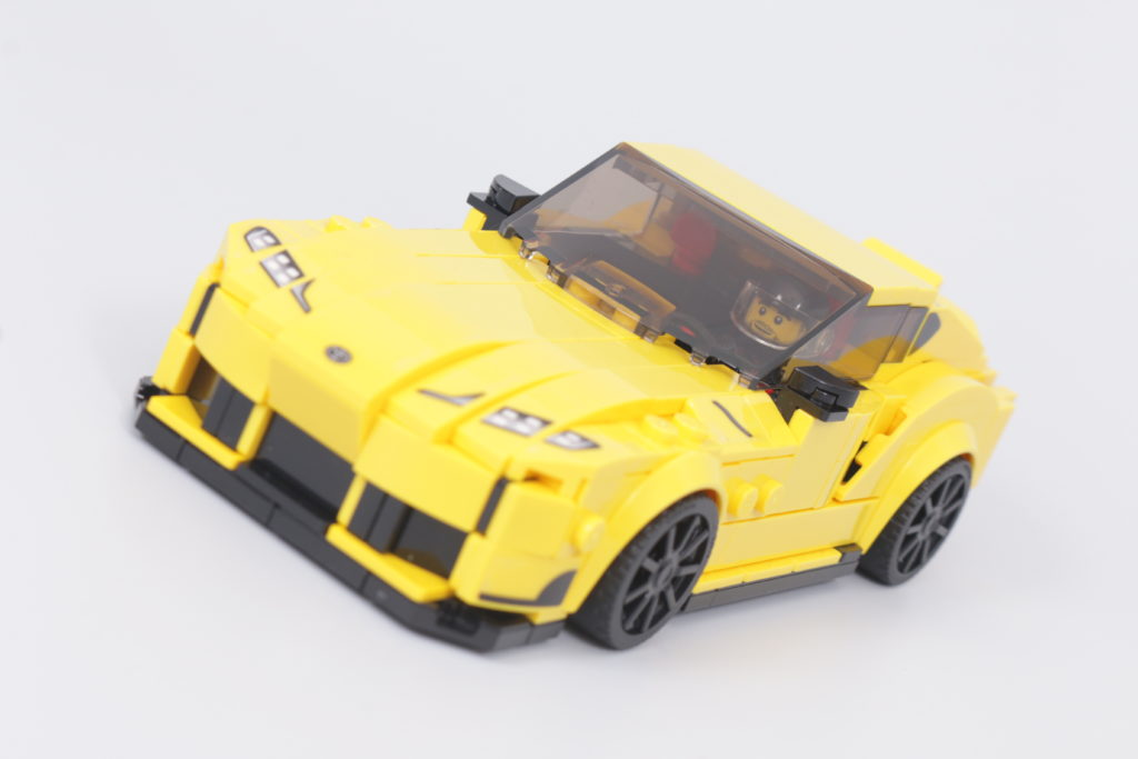 LEGO Speed Champions 76901 Toyota GR Supra review 4