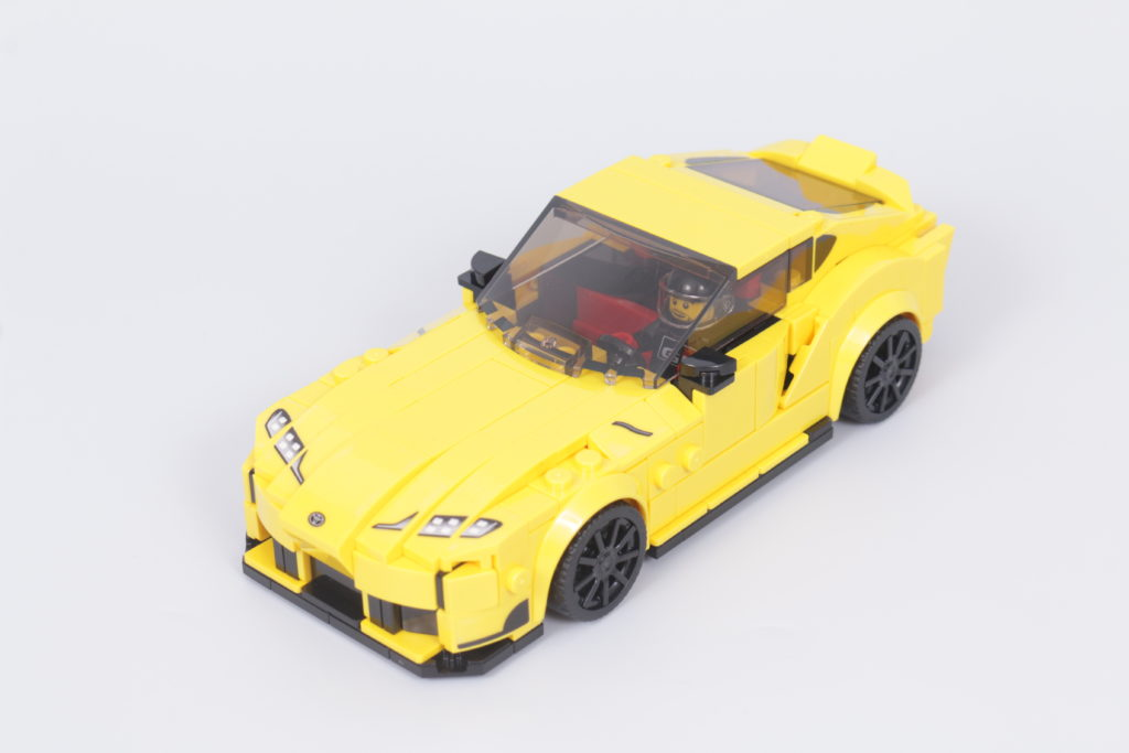 LEGO Speed Champions 76901 Toyota GR Supra review 5