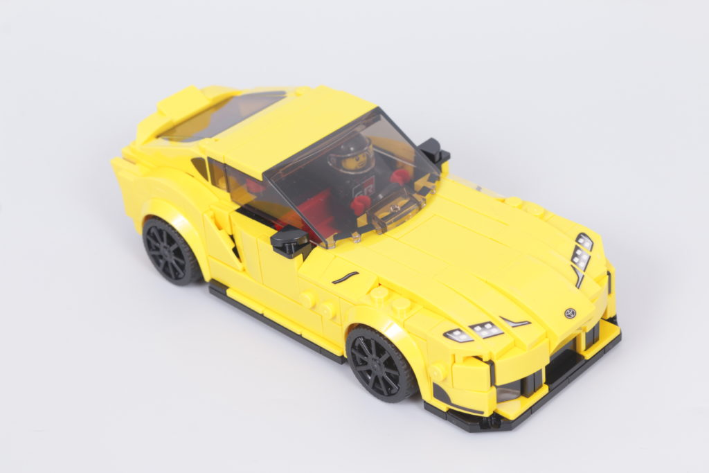 LEGO Speed Champions 76901 Toyota GR Supra review 6