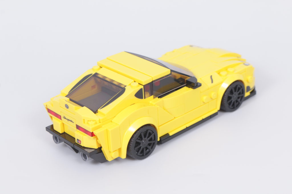 LEGO Speed Champions 76901 Toyota GR Supra review 7
