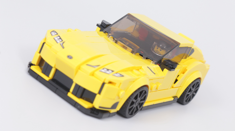LEGO Speed Champions 76901 Toyota GR Supra Review Title