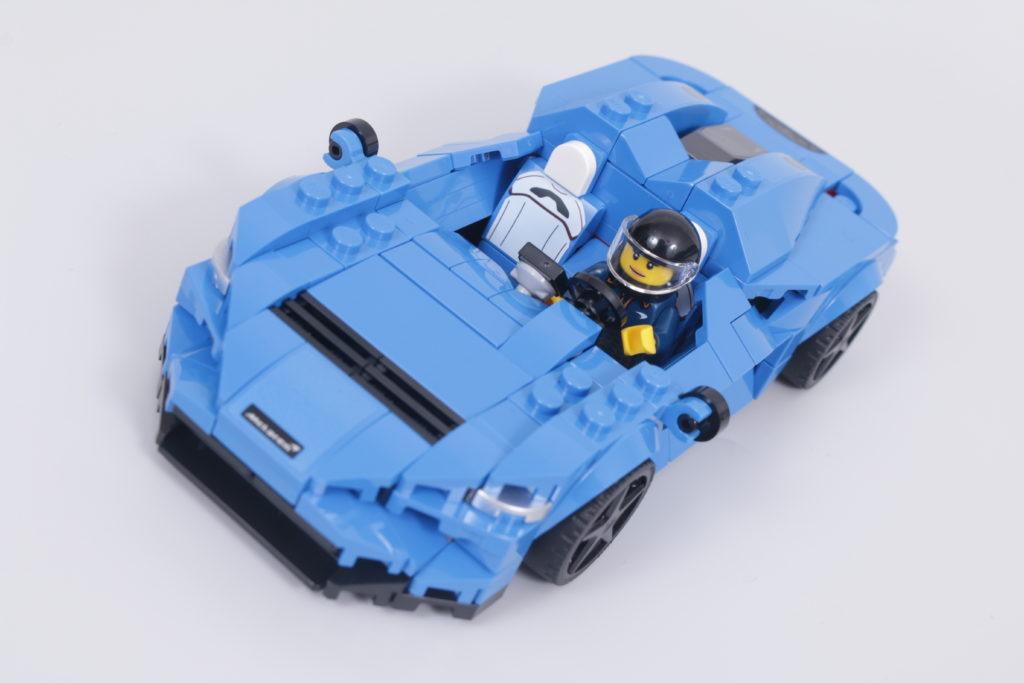 LEGO Speed Champions 76902 McLaren Elva review 12