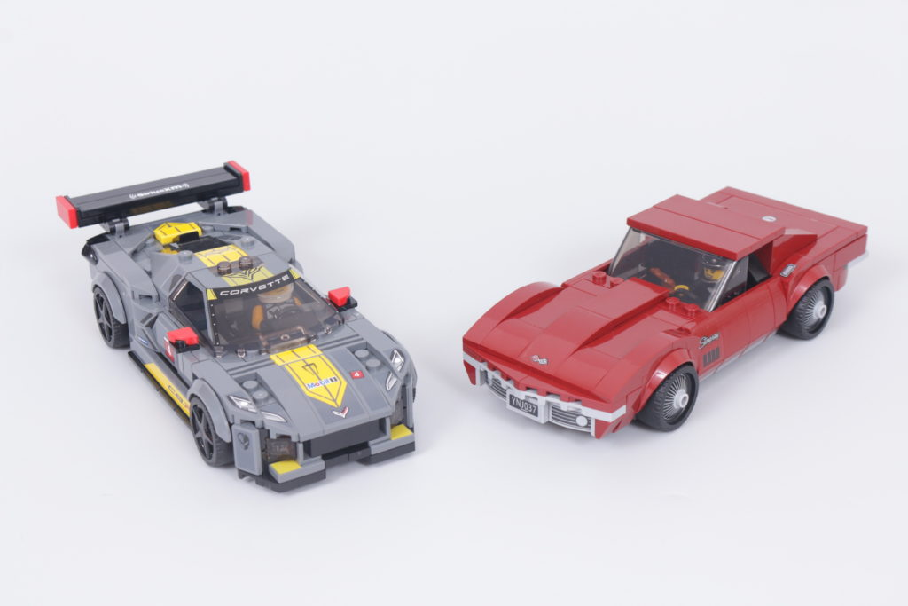 LEGO Speed Champions 76903 Chevrolet Corvette C8.R Race Car and 1968 Chevrolet Corvette review 1