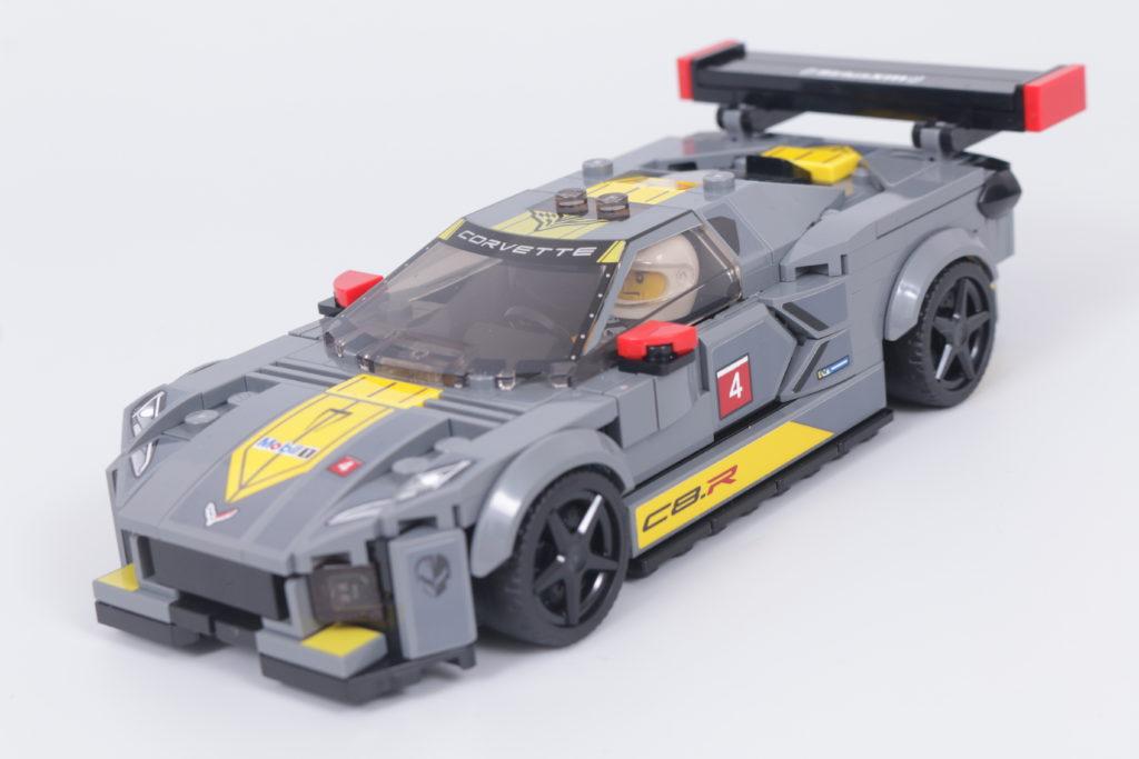 LEGO Speed Champions 76903 Chevrolet Corvette C8.R Race Car and 1968 Chevrolet Corvette review 16
