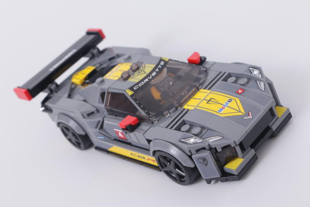 LEGO Speed Champions 76903 Chevrolet Corvette C8.R Race Car and 1968 Chevrolet Corvette review 17