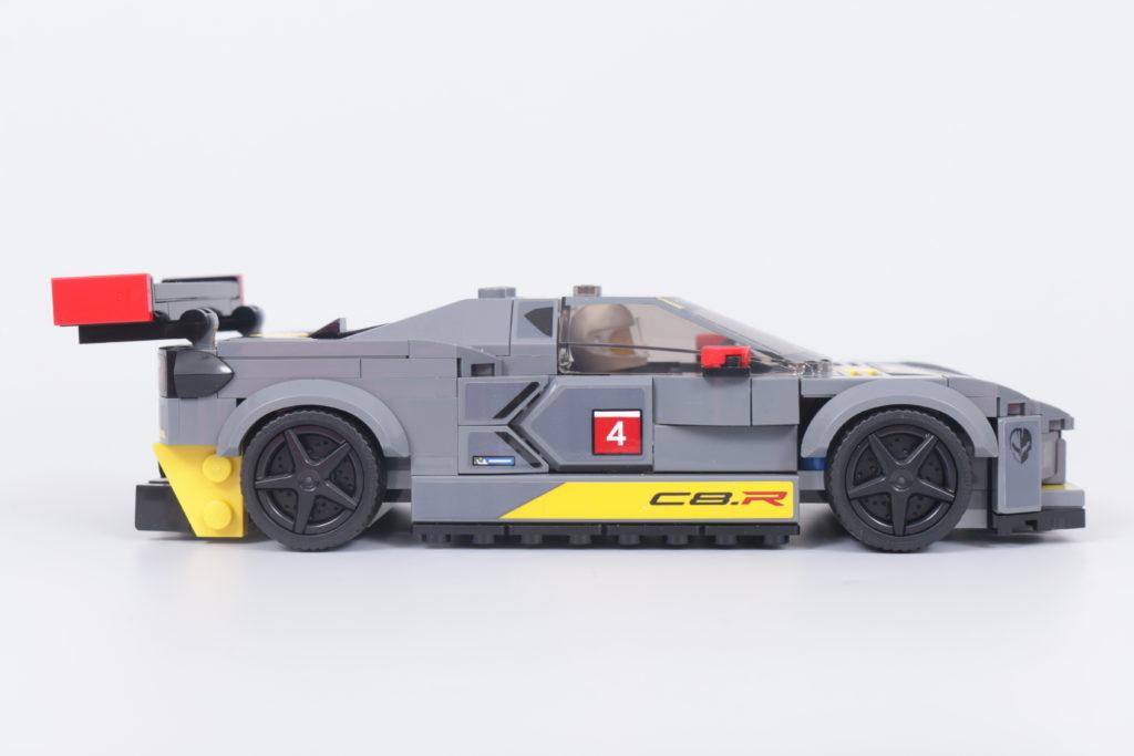 LEGO Speed Champions 76903 Chevrolet Corvette C8.R Race Car and 1968 Chevrolet Corvette review 18