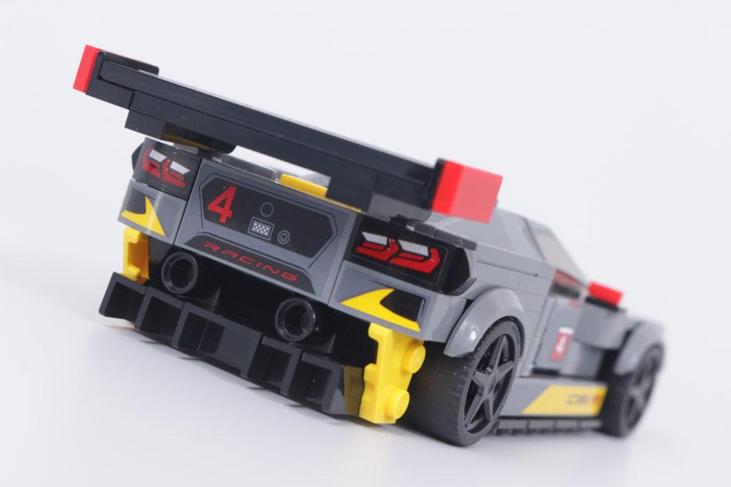 LEGO Speed Champions 76903 Chevrolet Corvette C8.R Race Car and 1968 Chevrolet Corvette review 19