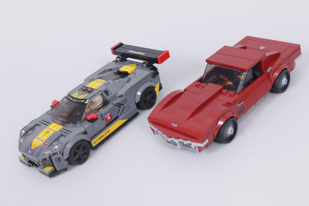 LEGO Speed Champions 76903 Chevrolet Corvette C8.R Race Car and 1968 Chevrolet Corvette review 2