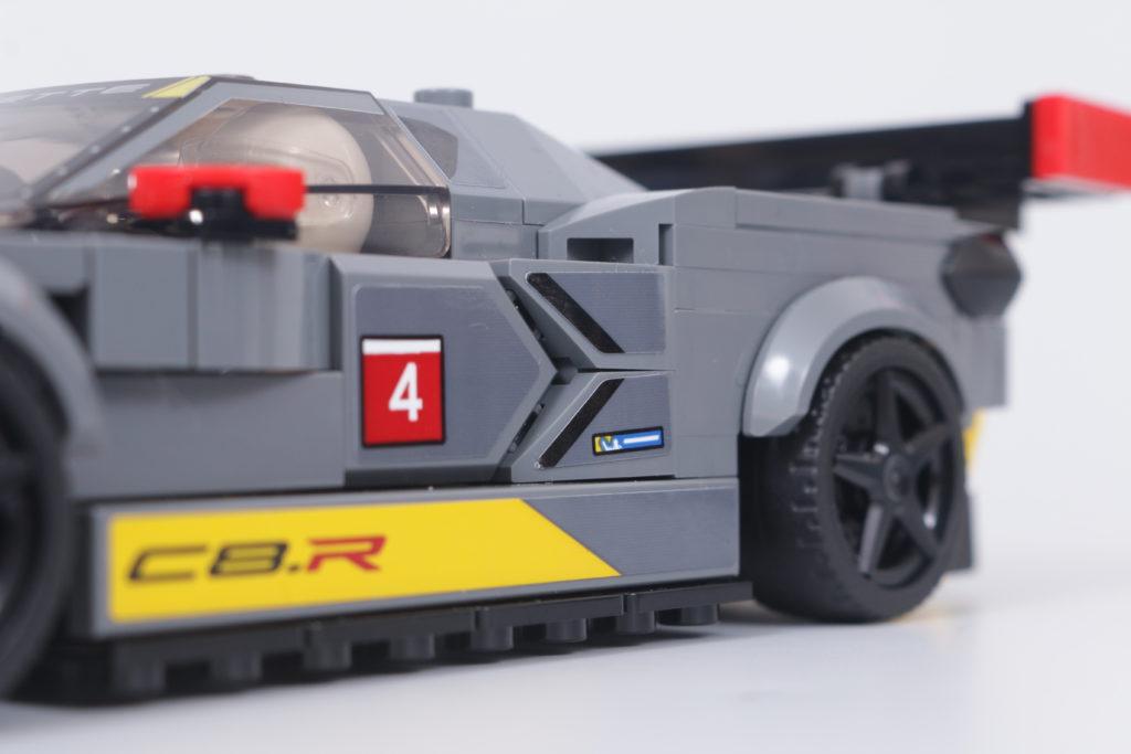 LEGO Speed Champions 76903 Chevrolet Corvette C8.R Race Car and 1968 Chevrolet Corvette review 20