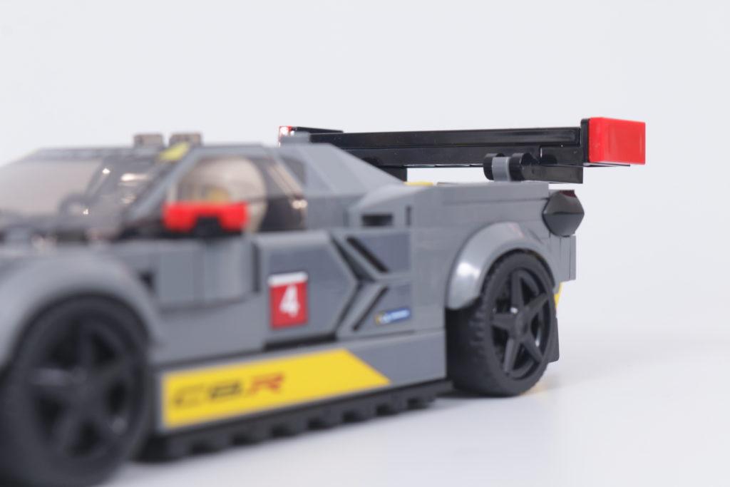 LEGO Speed Champions 76903 Chevrolet Corvette C8.R Race Car and 1968 Chevrolet Corvette review 21