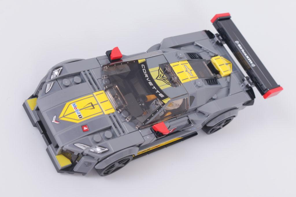 LEGO Speed Champions 76903 Chevrolet Corvette C8.R Race Car and 1968 Chevrolet Corvette review 23
