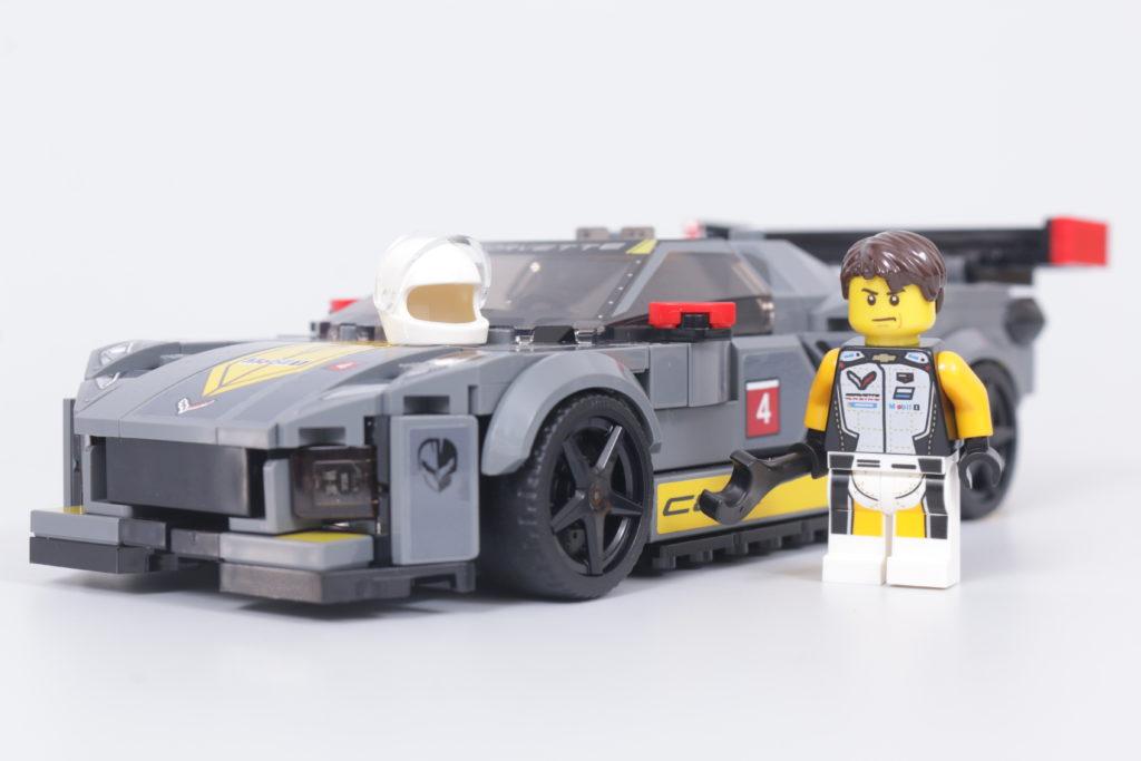 LEGO Speed Champions 76903 Chevrolet Corvette C8.R Race Car and 1968 Chevrolet Corvette review 27