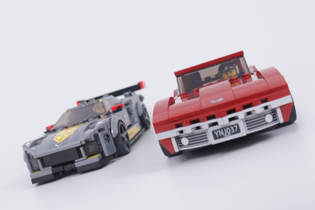 LEGO Speed Champions 76903 Chevrolet Corvette C8.R Race Car and 1968 Chevrolet Corvette review 3
