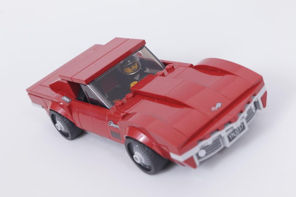 LEGO Speed Champions 76903 Chevrolet Corvette C8.R Race Car and 1968 Chevrolet Corvette review 4