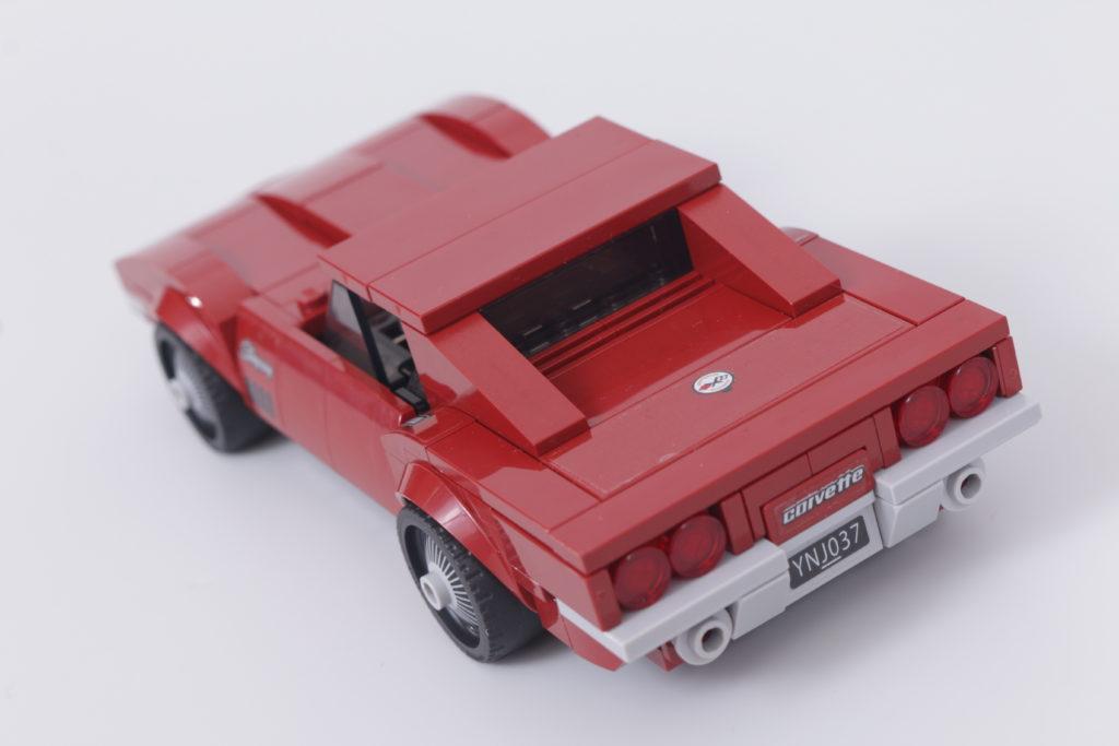 LEGO Speed Champions 76903 Chevrolet Corvette C8.R Race Car and 1968 Chevrolet Corvette review 7