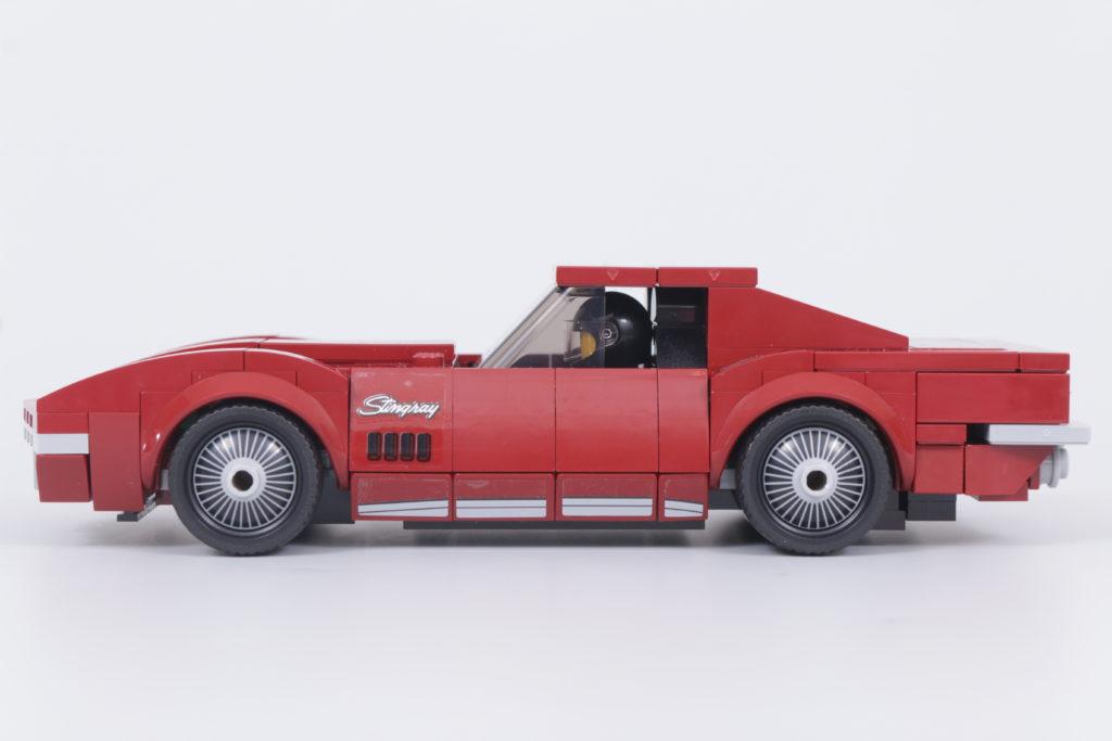LEGO Speed Champions 76903 Chevrolet Corvette C8.R Race Car and 1968 Chevrolet Corvette review 8
