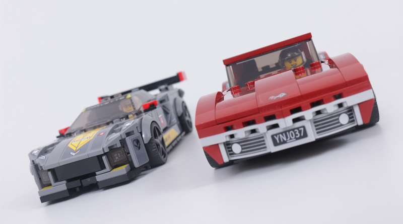 LEGO Speed Champions 76903 Chevrolet Corvette C8.R Race Car And 1968 Chevrolet Corvette Review Title