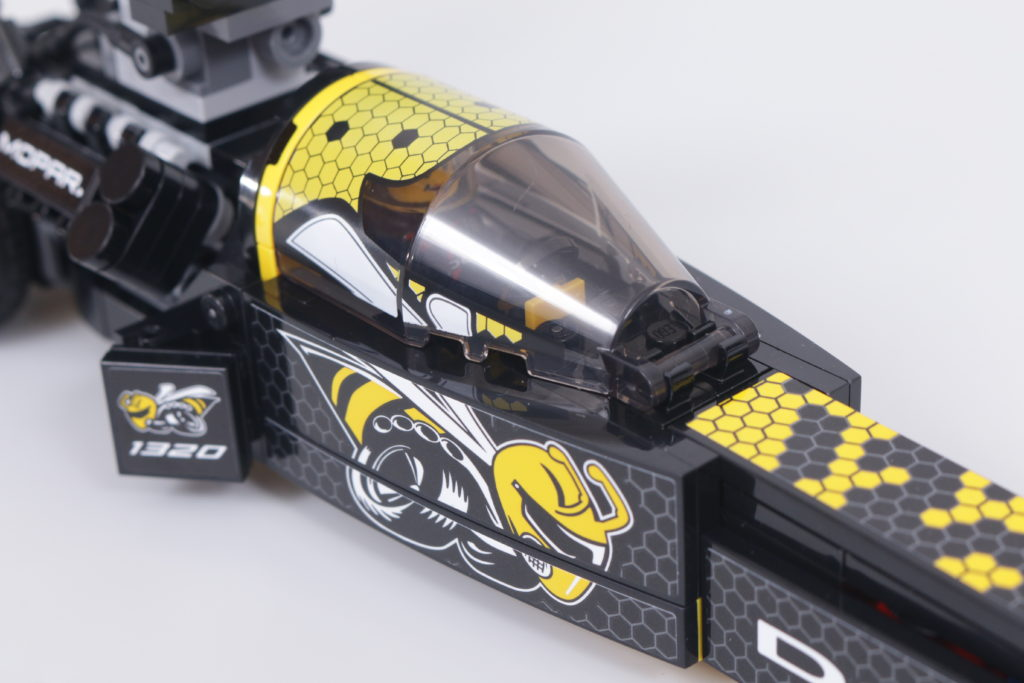 LEGO Speed Champions 76904 Mopar DodgeSRT Top Fuel Dragster And 1970 Dodge Challenger TA Review 25