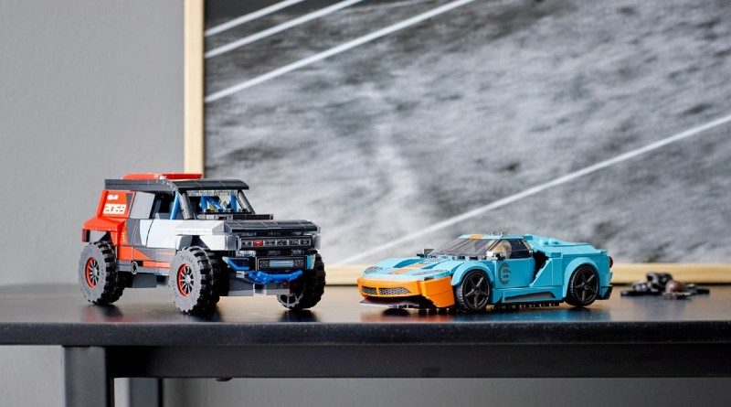 LEGO Speed Champions 76905 Ford GT Heritage Edition and Bronco R featured 1