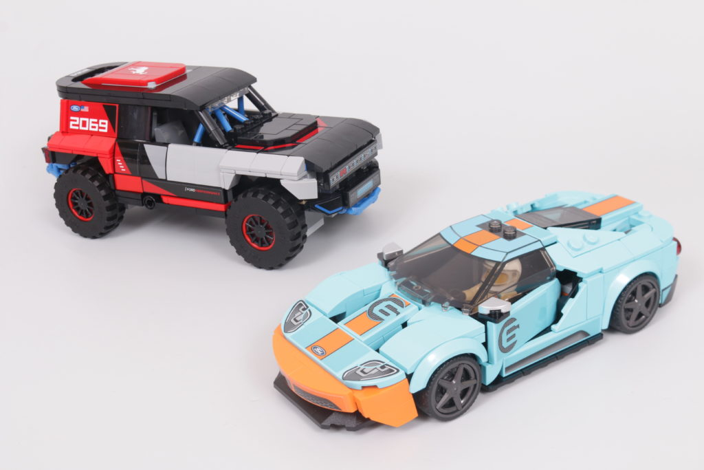 LEGO Speed Champions 76905 Ford GT Heritage Edition and Bronco R review 1
