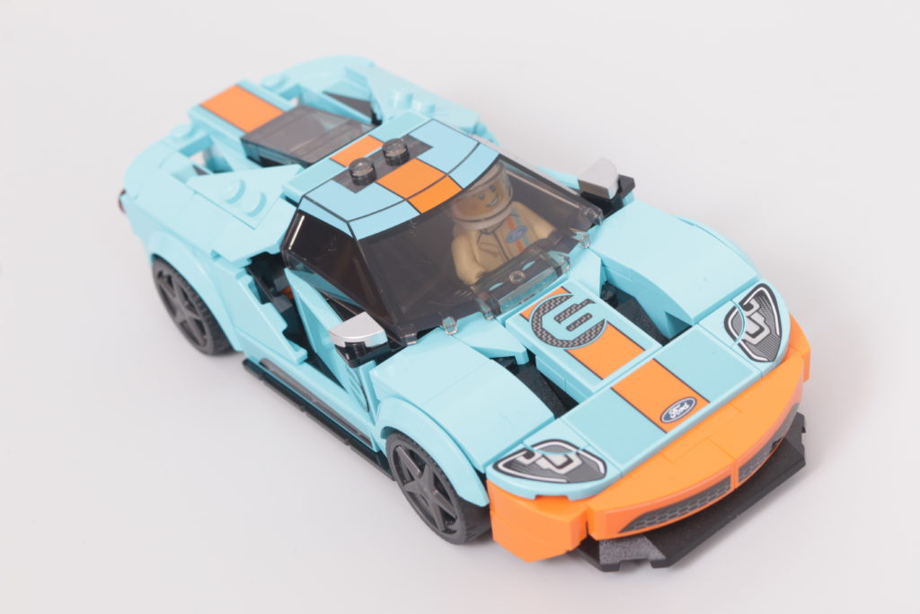 LEGO Speed Champions 76905 Ford GT Heritage Edition and Bronco R review 10