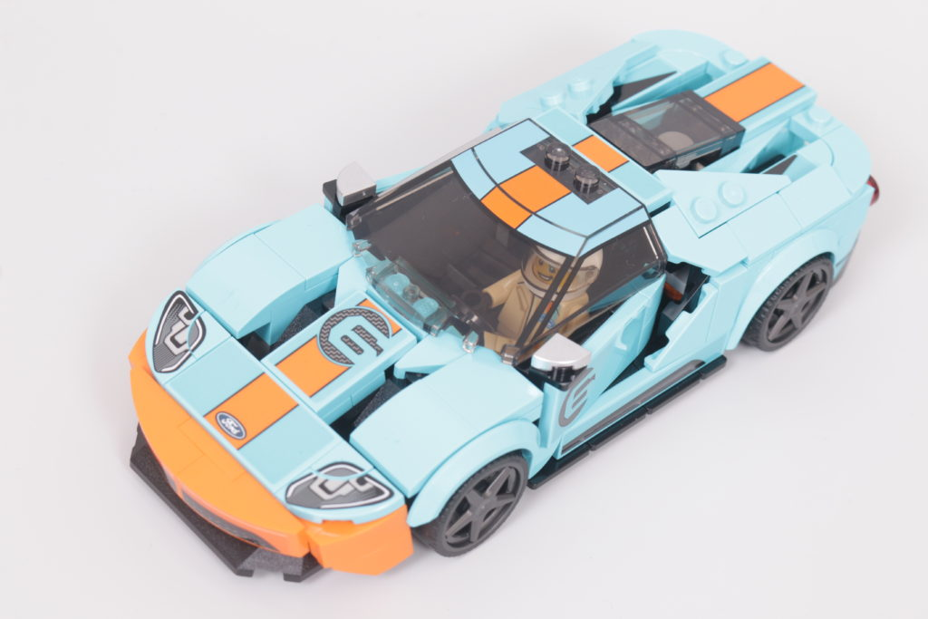 LEGO Speed Champions 76905 Ford GT Heritage Edition and Bronco R review 17