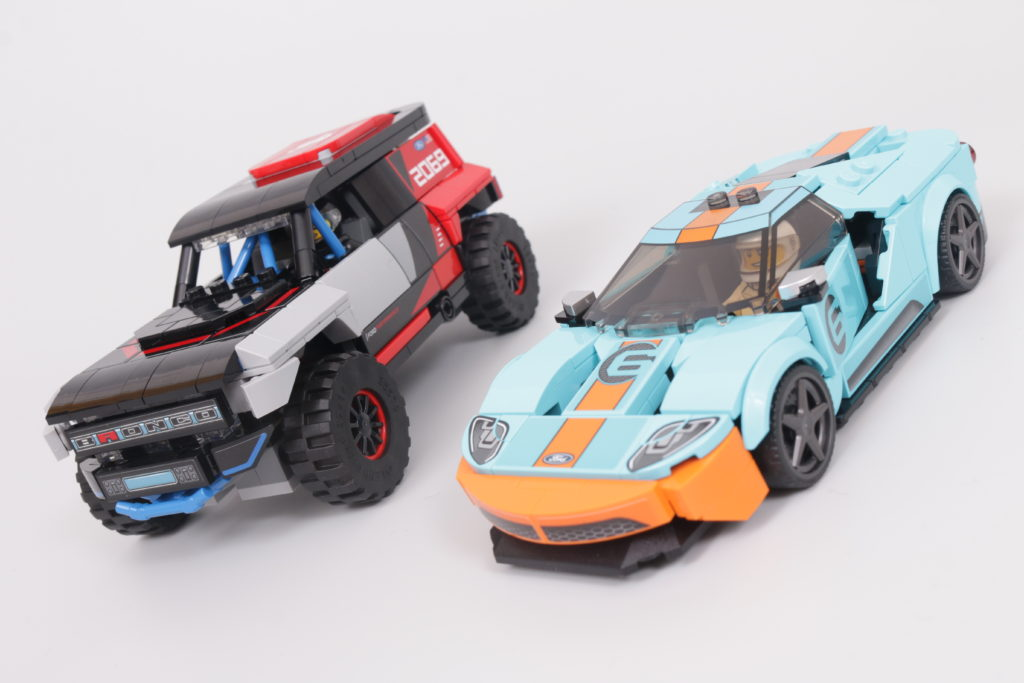 LEGO Speed Champions 76905 Ford GT Heritage Edition and Bronco R review 2