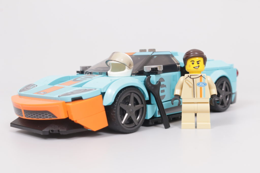 LEGO Speed Champions 76905 Ford GT Heritage Edition and Bronco R review 24