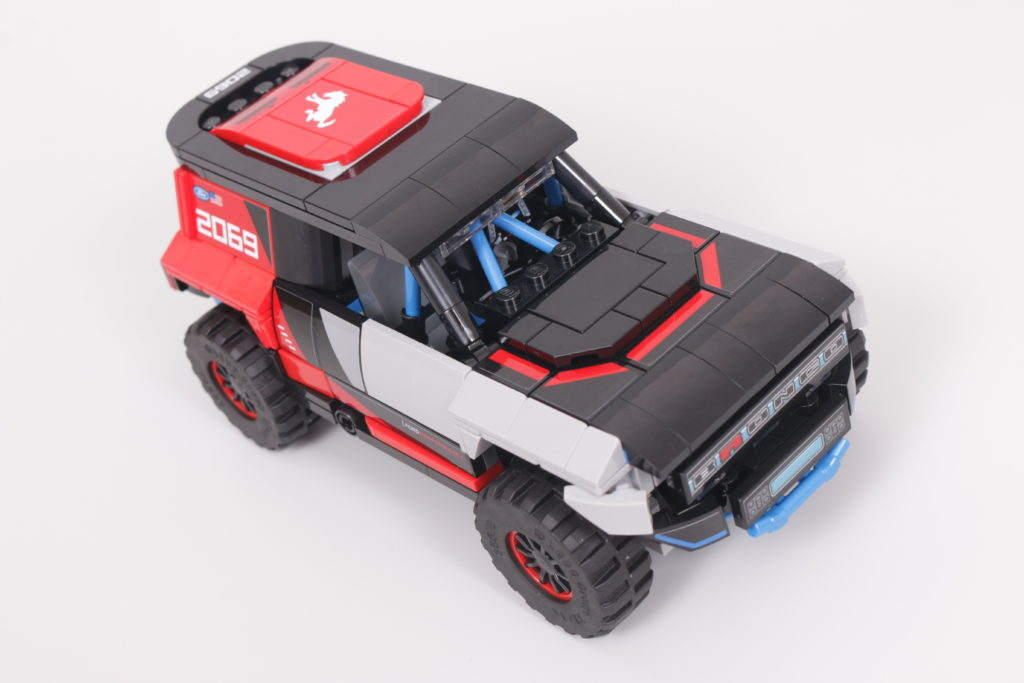 LEGO Speed Champions 76905 Ford GT Heritage Edition and Bronco R review 33