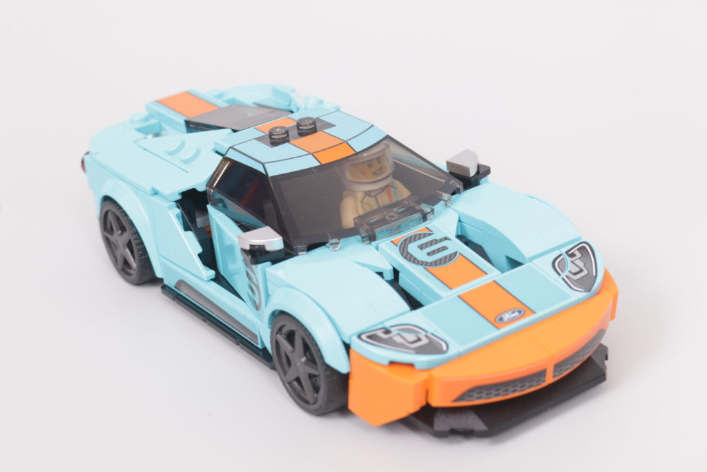LEGO Speed Champions 76905 Ford GT Heritage Edition and Bronco R review 5