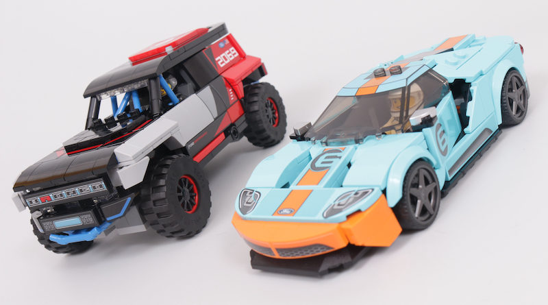 LEGO Speed Champions 76905 Ford GT Heritage Edition and Bronco R review title