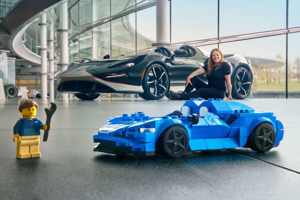 LEGO Speed Champions McLaren Elva Rachael Easter egg