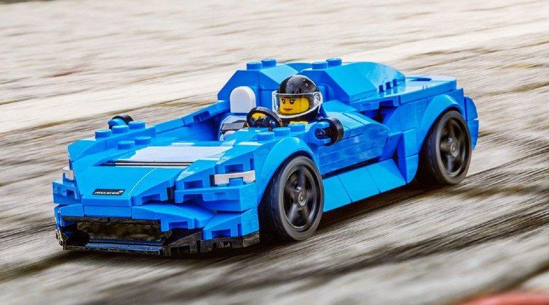 LEGO Speed Champions Mclaren Elva easter egg