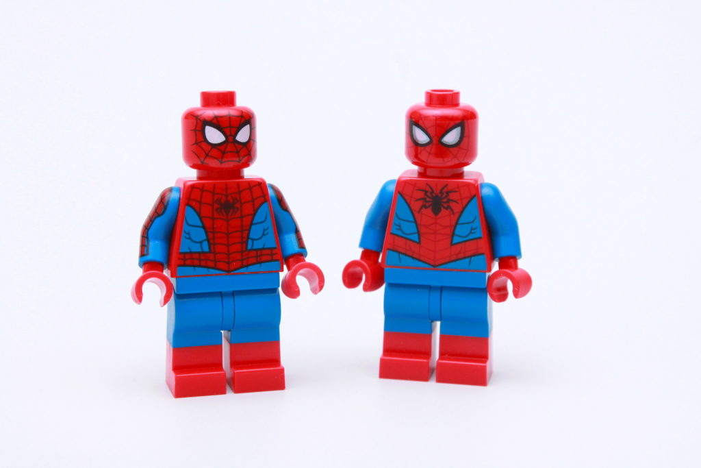 LEGO Spider Man 2021 dual moulded legs 4