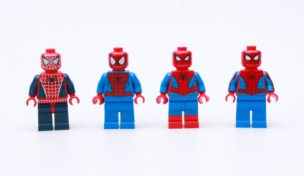 LEGO Spider Man 2021 Dual Moulded Legs 6