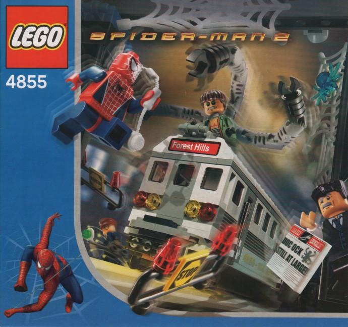LEGO Spider Man 4855 Spider Mans Train Rescue