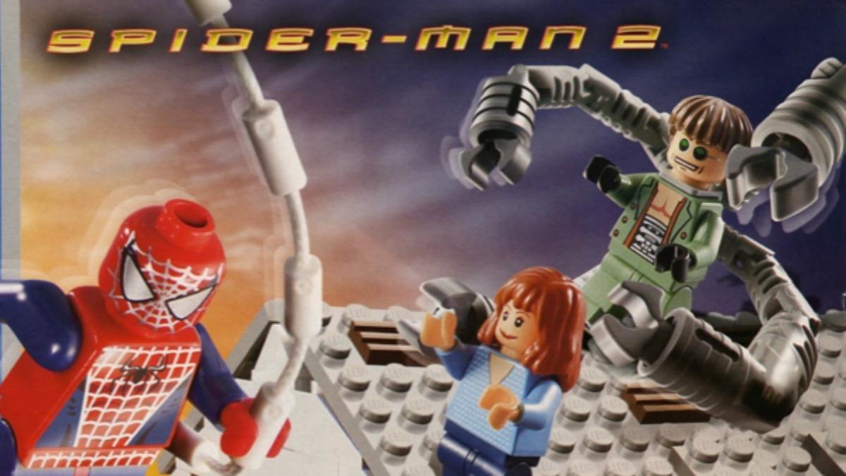 LEGO Spider Man 4856 Doc Ocks Hideout Featured