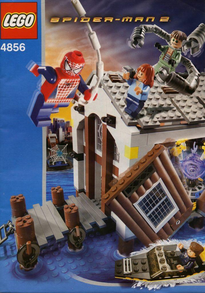 LEGO Spider Man 4856 Doc Ocks Hideout ဖြစ်သည်