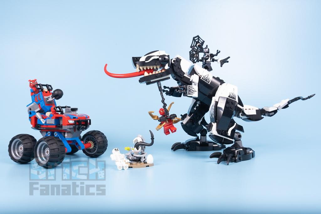 LEGO Spider Man 76151 Venomosaurus Ambush 1