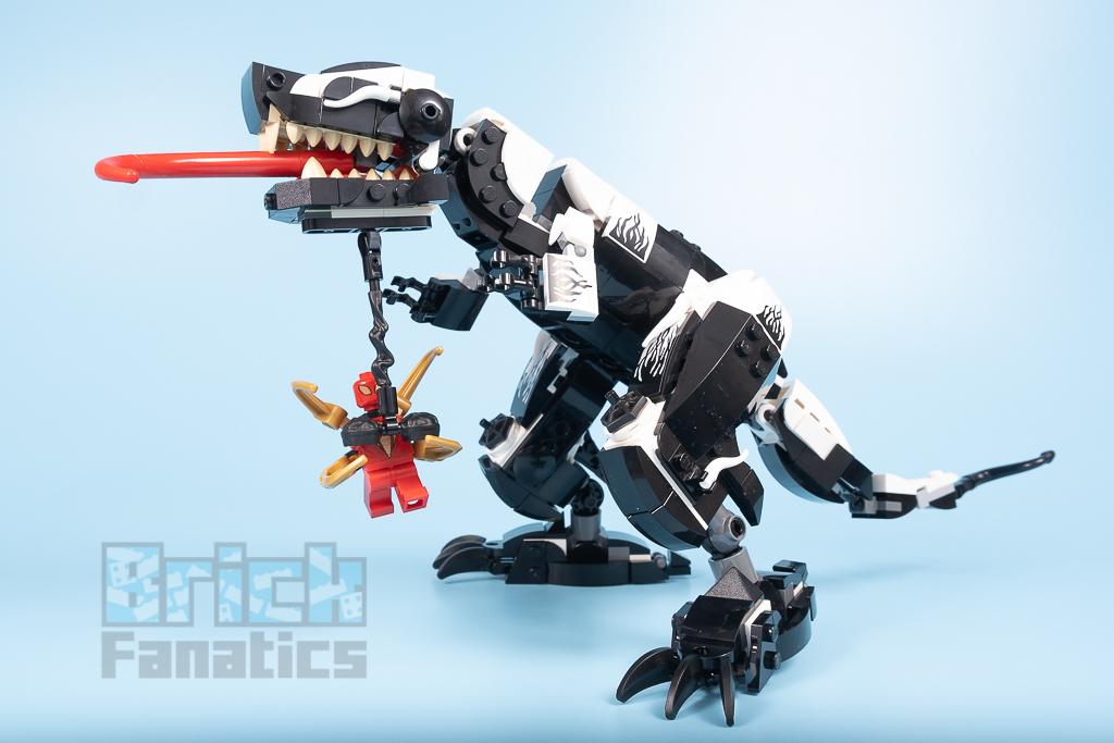 LEGO Spider Man 76151 Venomosaurus Ambush 26