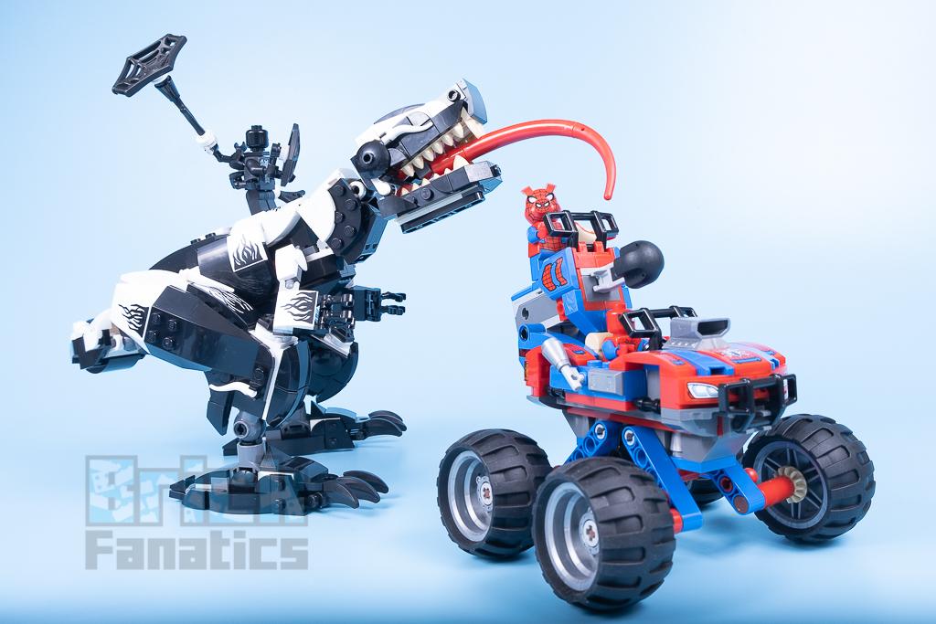 LEGO Spider Man 76151 Venomosaurus Ambush 4