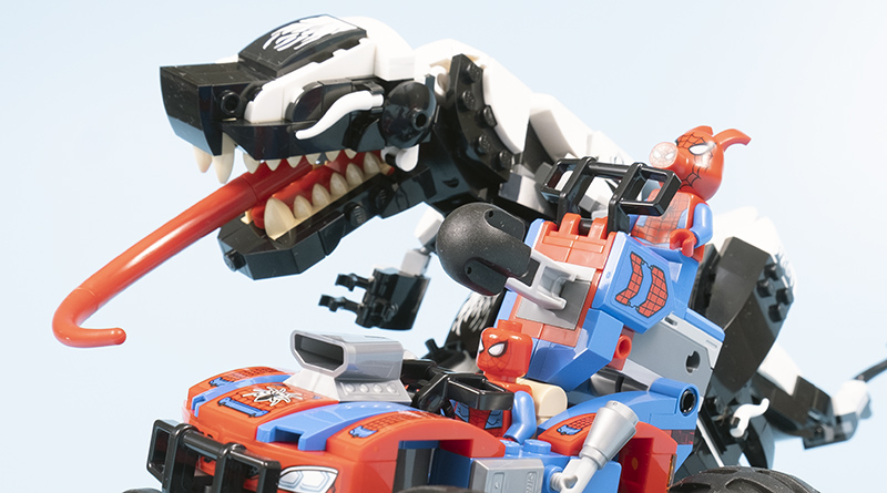 LEGO Spider Man 76151 Venomosaurus Ambush Featured