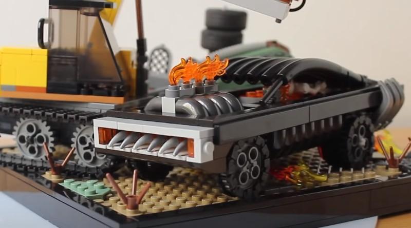 LEGO Spider Man Ghost Rider Featured