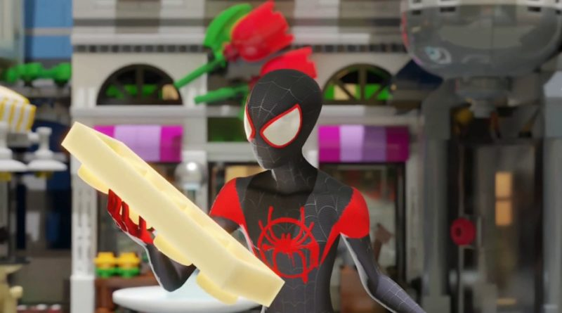LEGO Spider Man into the Spider Verse animation featured