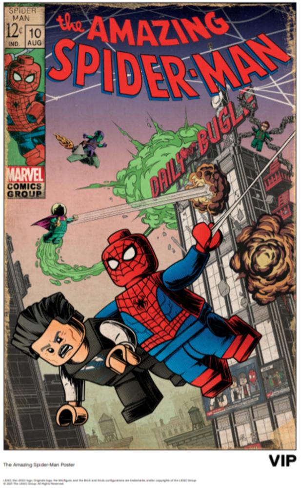 LEGO Spider Man poster 1