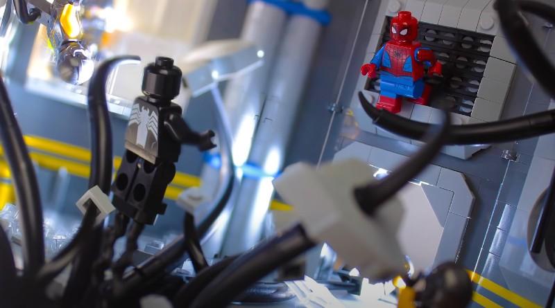 LEGO Spider Man Venom Encounter Build Featured
